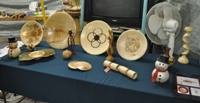 Sue Harker woodturning