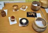 Snainton Woodturning Club competition entires