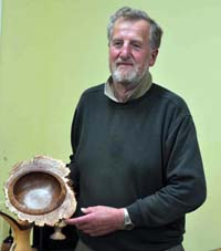 Snainton Woodturning Club competition winner