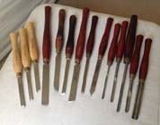 13 Record and 3 Sorby chisels